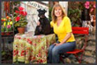 Carmel Magazine Ad photo, Ms. Trawicks Garden Shop