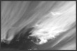 Abstract Pictorial - Black and White clouds